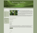 Olive Green Premium WordPress Theme