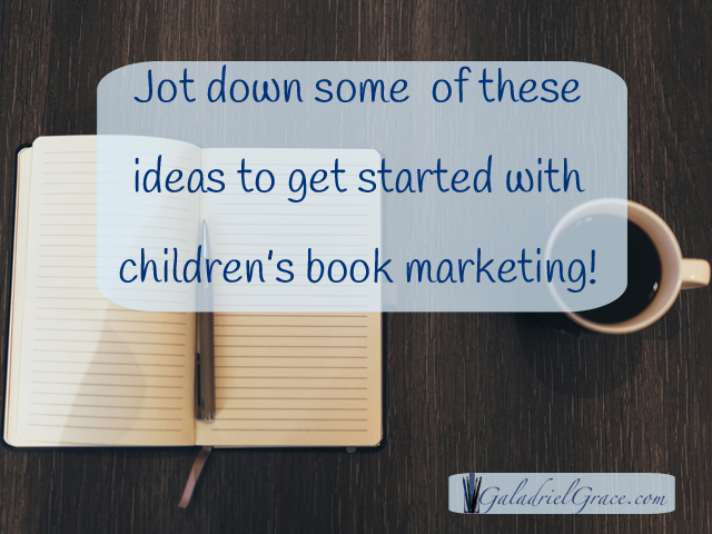 Need some marketing ideas for your children's book?