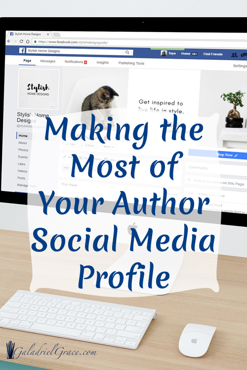Make the Most of Your Author Profile in Social Media