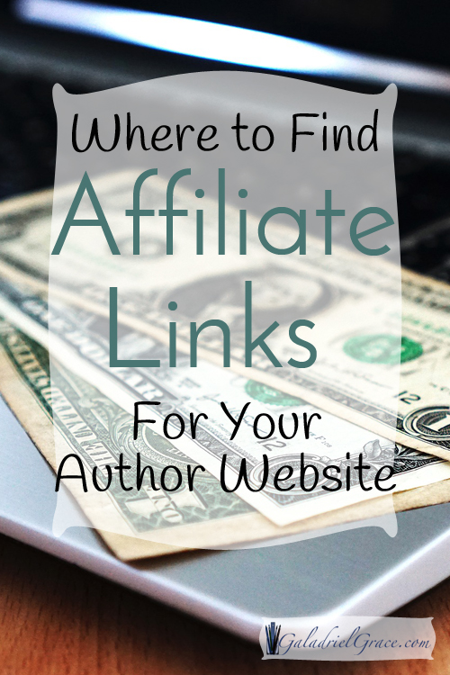 Where to find affiliate links for your website.
