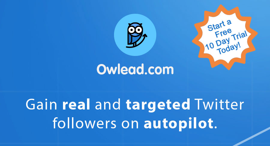 Get Real Twitter Followers - Free Ten Day Trial - Twitter Growth Service